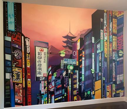 Tokyo/Kyoto Mural