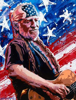 Willie Nelson Flag