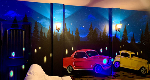 The Drive-In Theatre Room