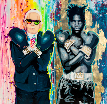 Karl and Basquiat