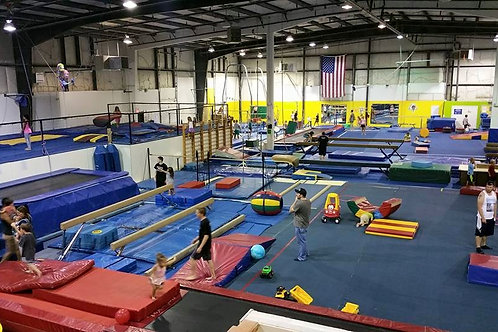 10 Credits (+1 Free) Indoor Playground,Family Open Gym, Saturday Night Drop Off