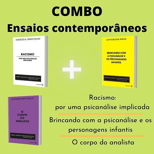 COMBO - Racismo / Personagens infantis/ Corpo do analista  (+frete gratuito)