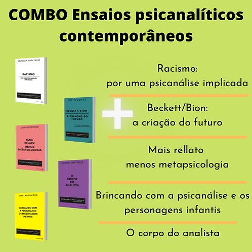 COMBO Ensaios Psicanalíticos Contemporâneos : 5 LIVROS (+frete grátis)