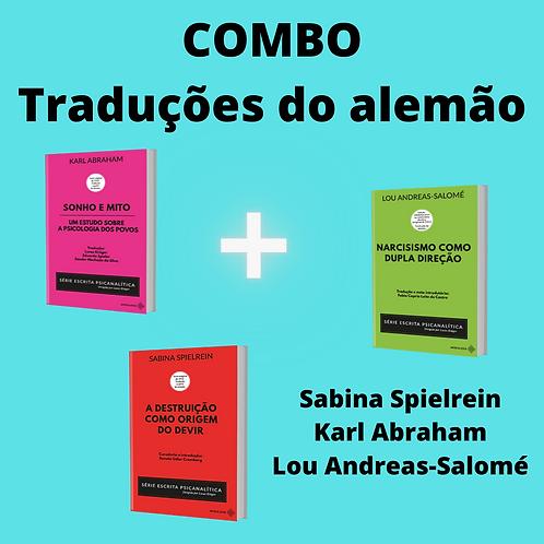 COMBO S. Spielrein, K. Abraham, L. Andreas-Salomé (+frete gratuito)