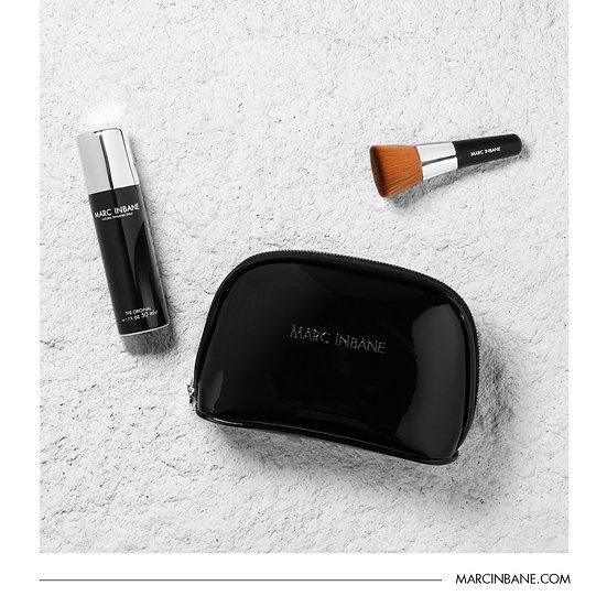 Travel Set: Tanning spray 50 ml + kabuki +luxe tasje