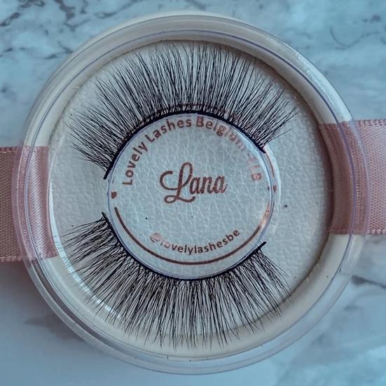 Lash kit Lana (wimpers + eyeliner pen + applicator tweezer)