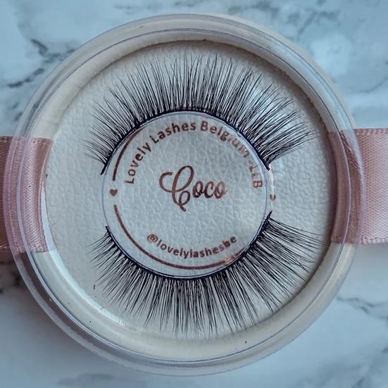 Lash kit Coco (wimpers + eyeliner pen + applicator tweezer)