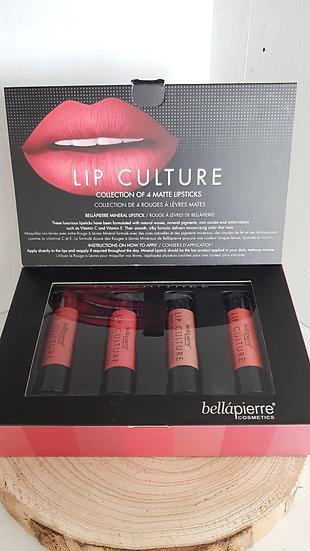 LAATSTE STUK: Set van 4 matte lipsticks