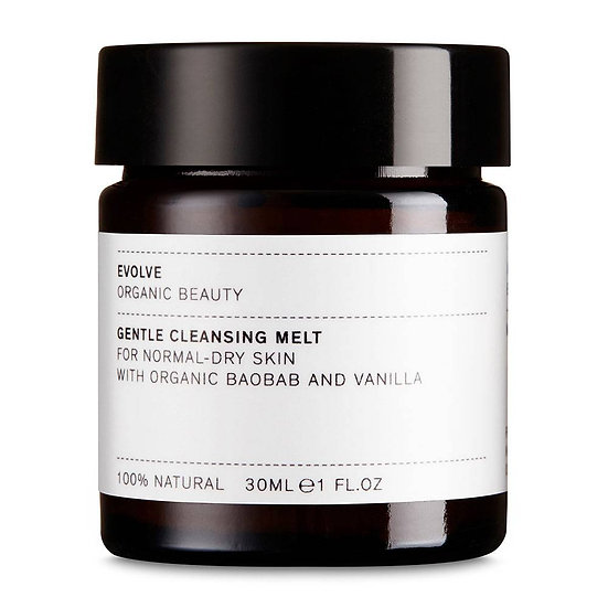 EVOLVE BEAUTY: Gentle Cleansing Melt (normale tot droge huid)