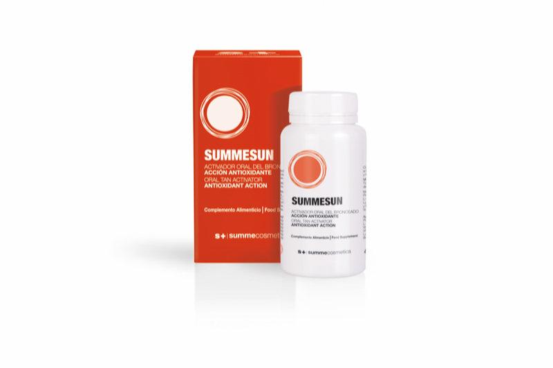 SUMMESUN: Supplement bruiningsbooster
