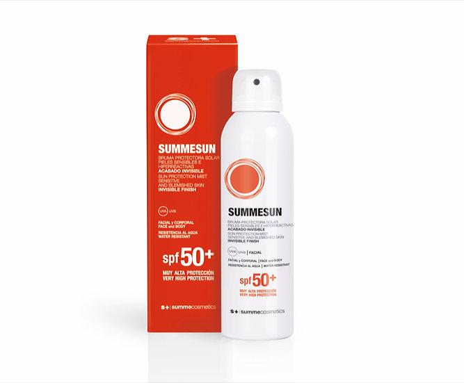 SUMMESUN GELAAT & LICHAAM: SPF50+ Spray voor gevoelige huid