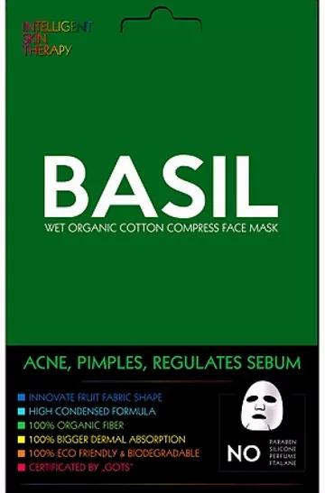 Basilicum & komkommer masker: Talgregulerend, acne, onzuiverheden