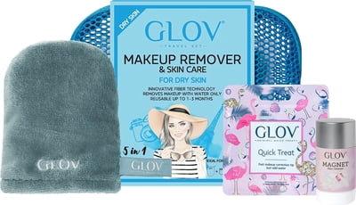 GLOV Travel Set Dry Skin (heel zacht)