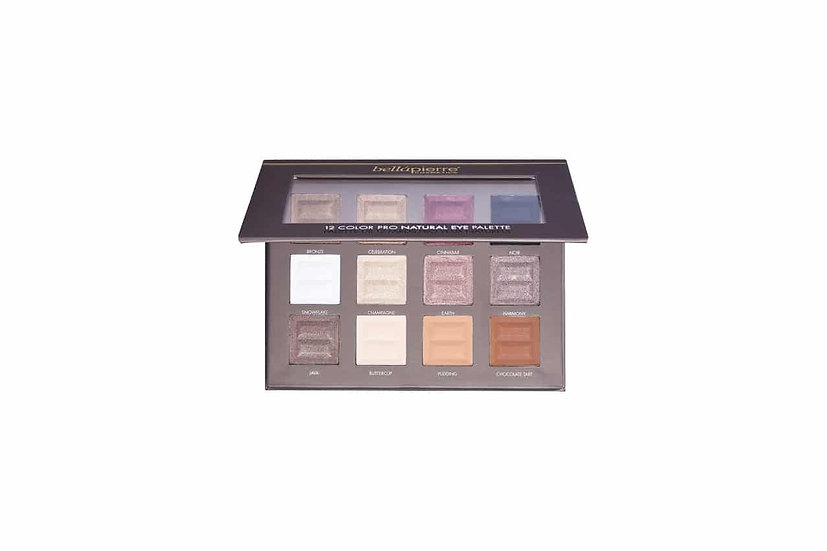 BELLAPIERRE: 12 Color Pro Eye Palette