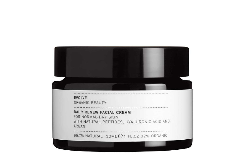 EVOLVE BEAUTY: Daily Renew Facial Cream (normale tot droge huid)