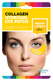 Verjongend & circulatie bevorderend oogmasker (Goud & Diamant)