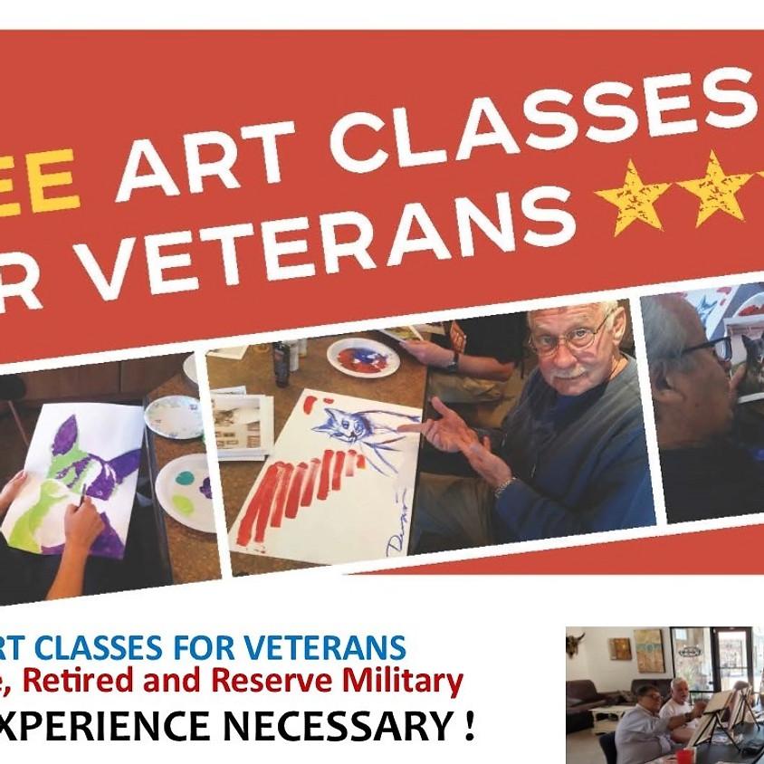 FREE Veterans Open Studio
