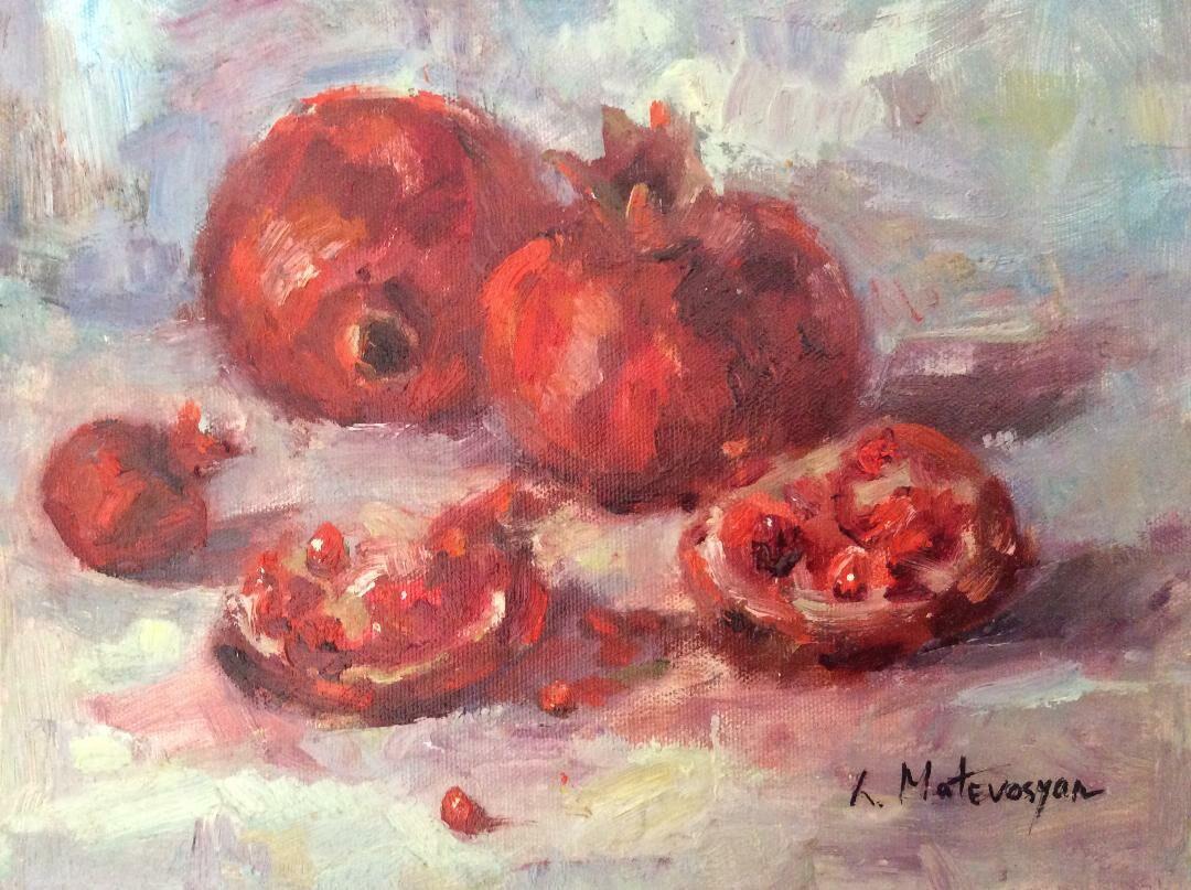Pmegranate Red