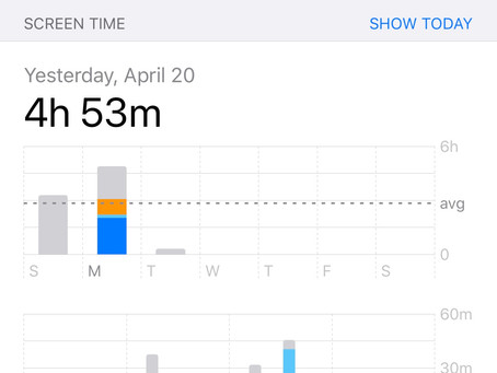 My Screen Time Is WAY UP! Is this a bad thing?