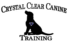 Crystal Clear Canine Training Logo