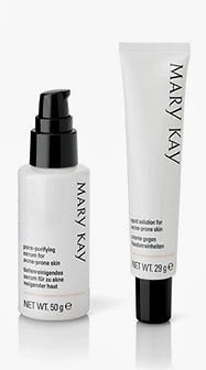 Mary Kay Acne System Pore Purifying & Spot Solution for Acne Prone Skin