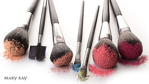 Mary Kay Makeup colour and brushes