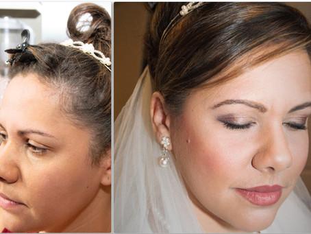 Bridal 👰 Makeup 💄 and Hair Makeover