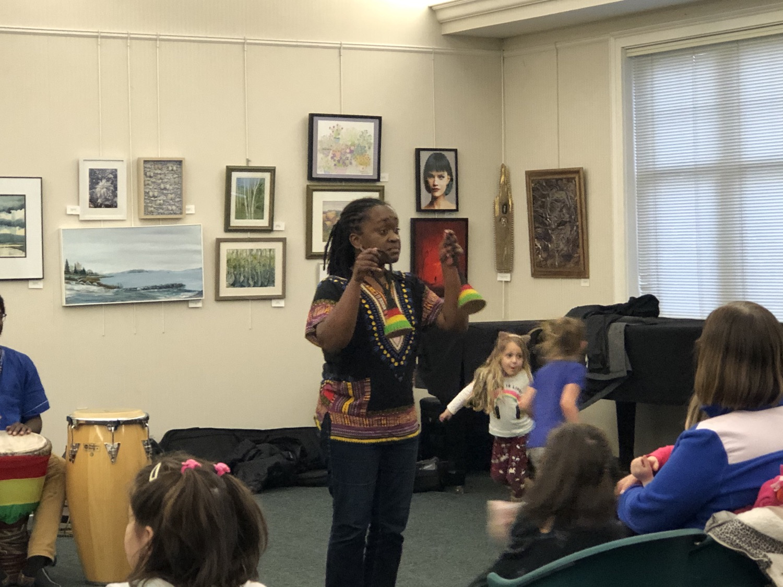 African Drumming & Dancing with Jocelyn Pleasant