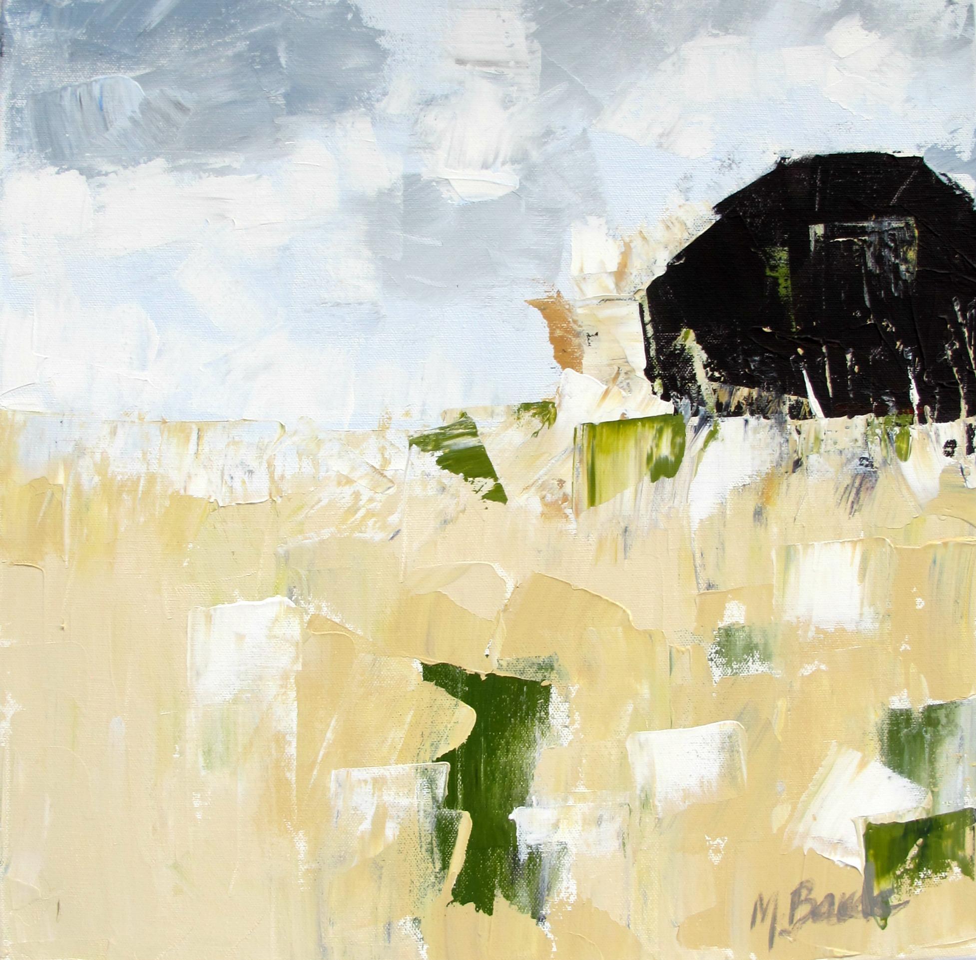 Barn in Field of Grasses