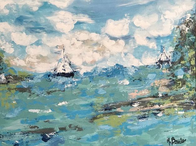 Aqua Two Sails