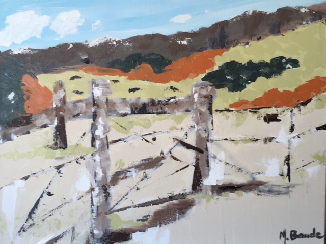 Fence on Ranch