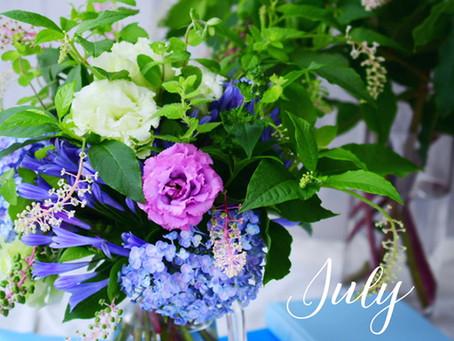 Flower styling 7月