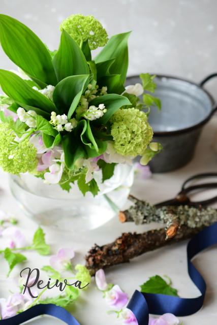 Flower styling 花のある暮し すずらん