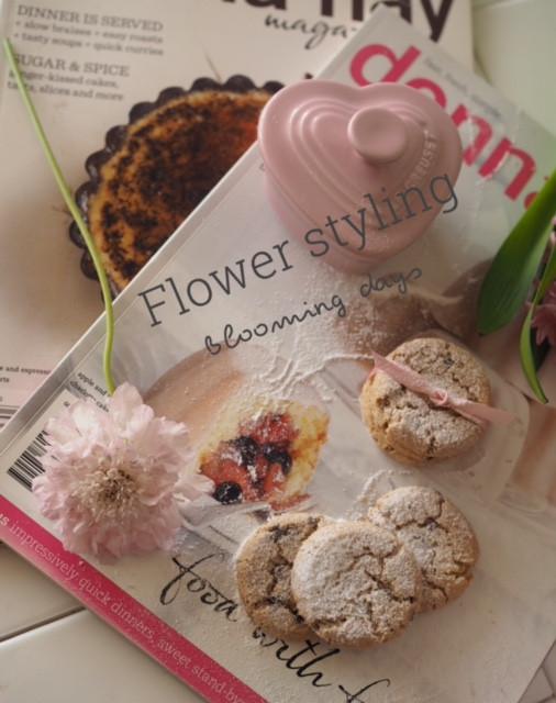 Flower styling  スカビオサ