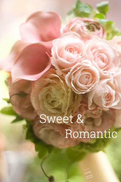 Sweet &Romantic ピンクのブーケ