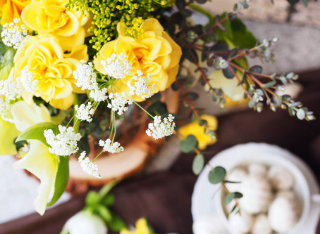 Flower styling Easter