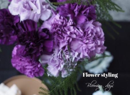 Flower styling ムーン•ダスト
