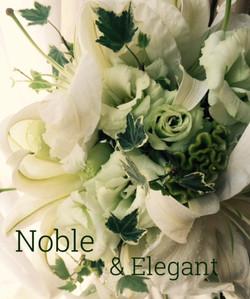 Noble&Elegant 百合のブーケ