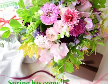 Flower styling 立春