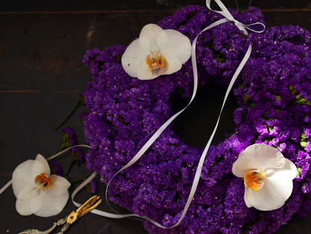 Flower styling スターチス