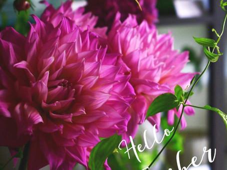 Flower styling 9月