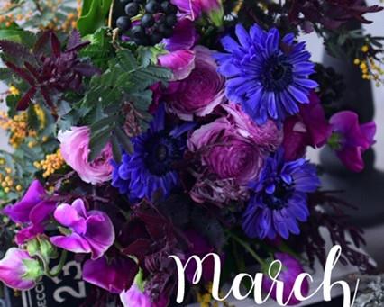 Flower styling  3月
