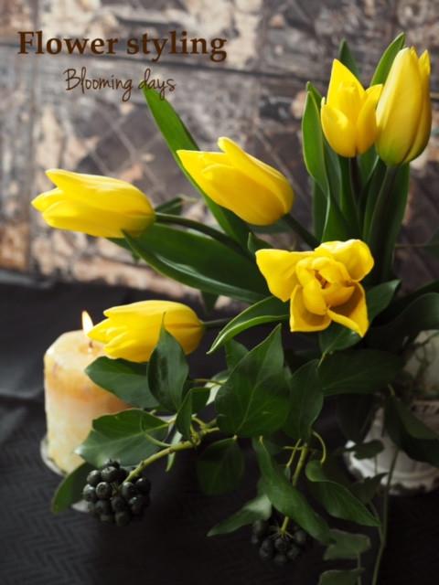 Flower styling  ヘデラベリー