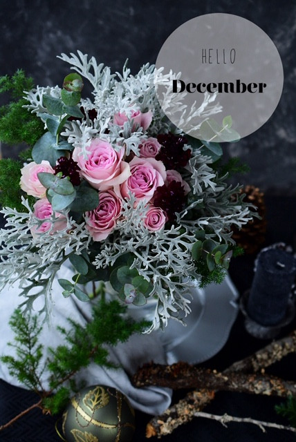 Flower styling  12月