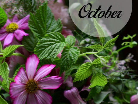 Flower styling 10月