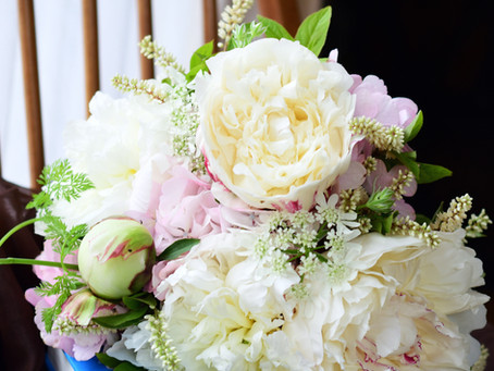 Flower styling 芍薬