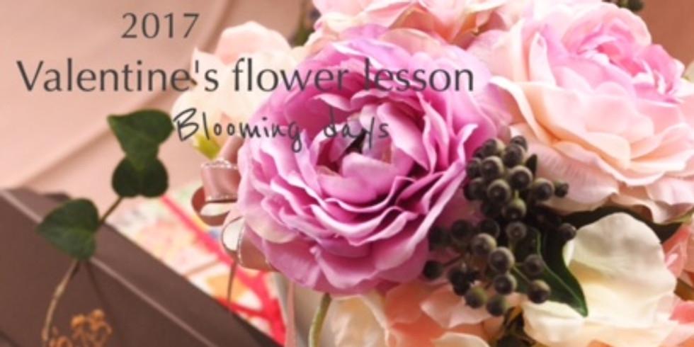 2017 Valentine' Flower Lesson