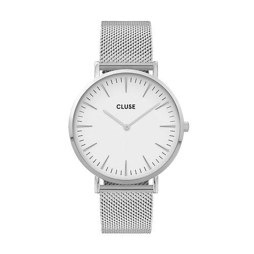 CLUSE La Boheme Mesh Silver/White