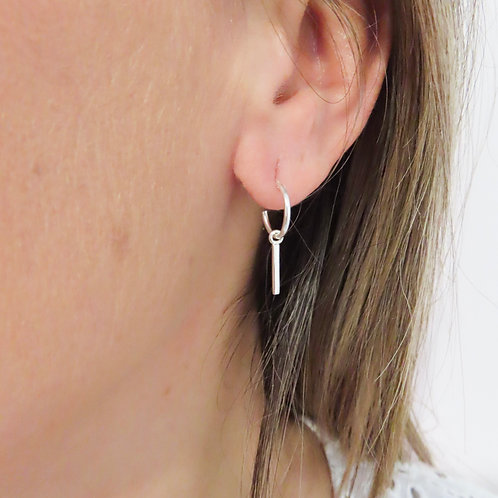 Bar Ring Earrings