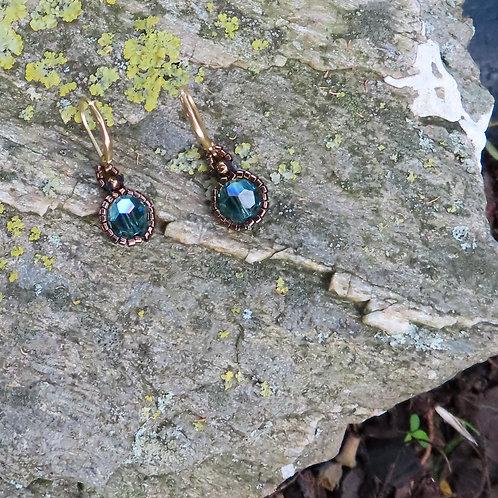 Victorian Sparkle Earrings